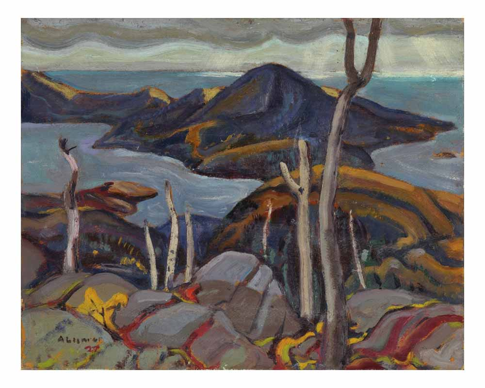 Untitled (Sombre Isle of Pic, Lake Superior), 1927