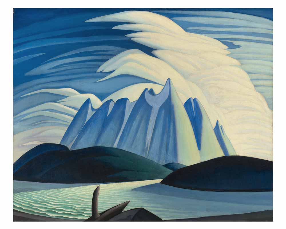 Lake and Mountains, 1928