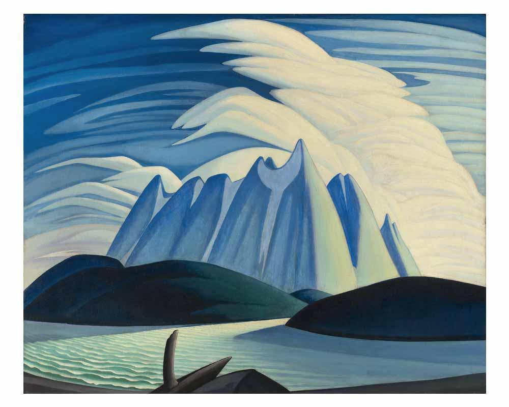 Lake and Mountains, 1928