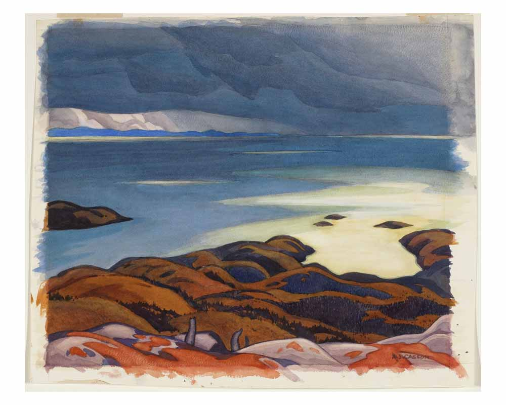 Approaching Storm, Lake Superior, 1929-30