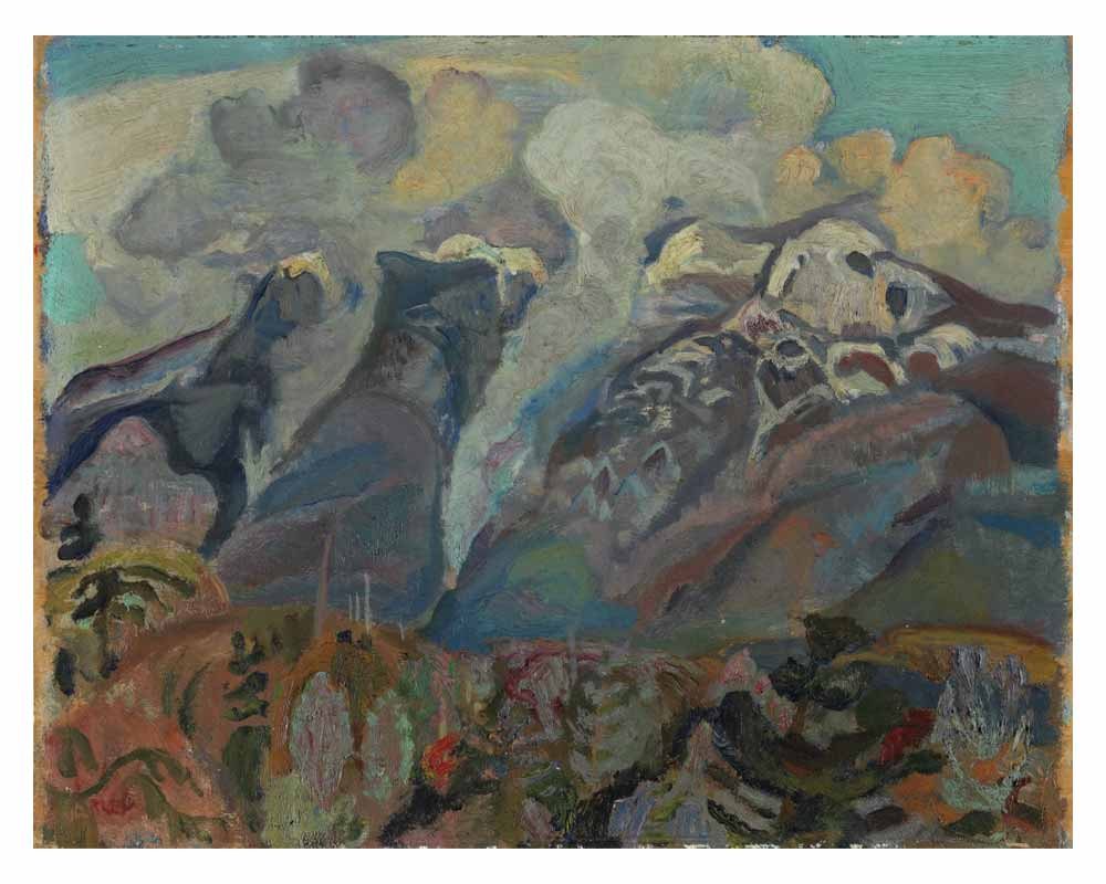 Birth of Clouds, 1929