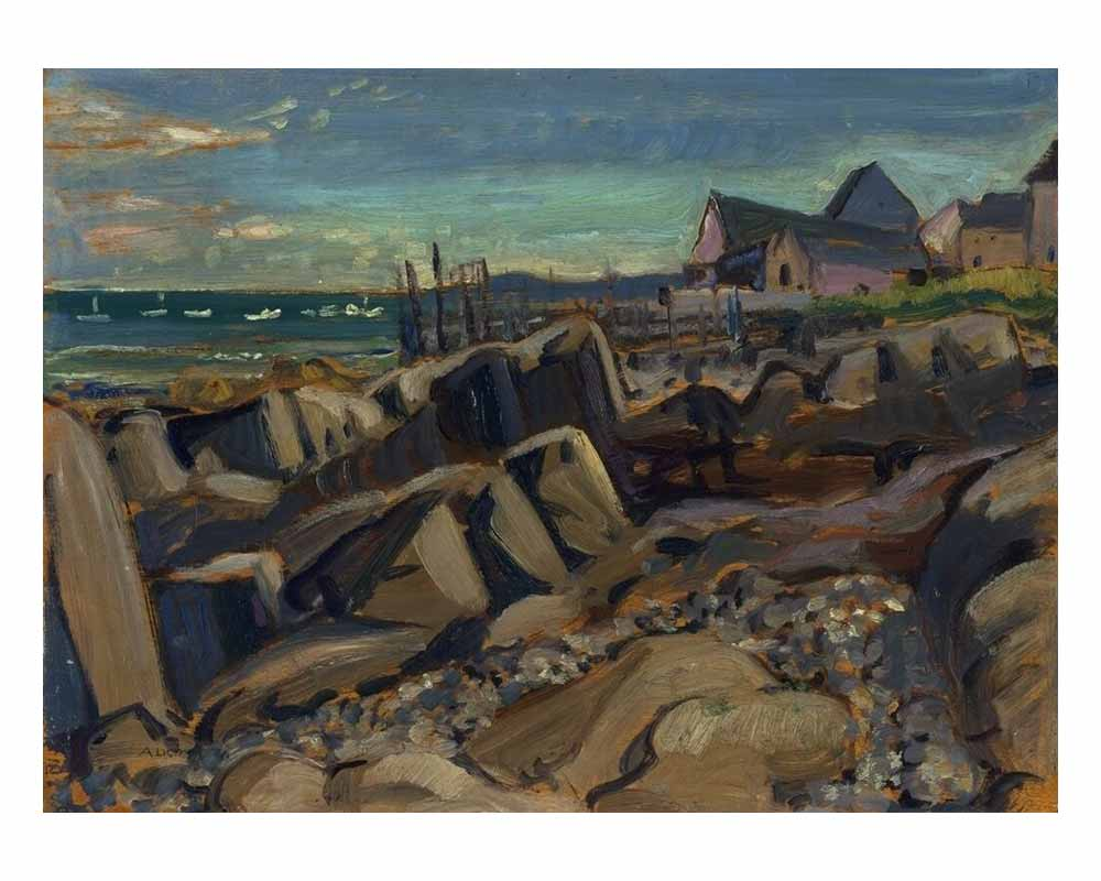 Fishing Village, New Brunswick, 1929