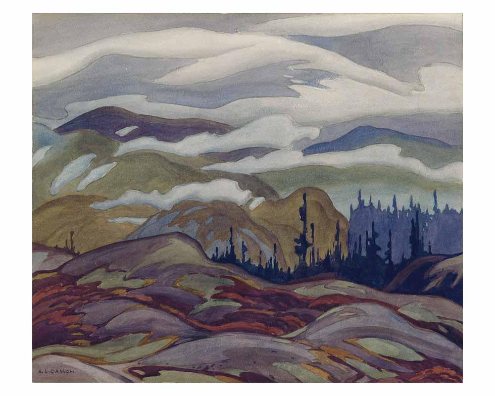 Fog Lifting, 1929