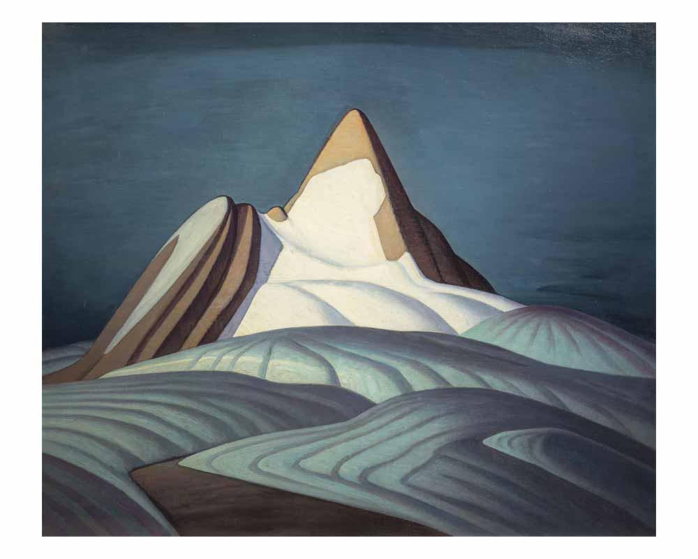 Isolation Peak, Rocky Mountains, 1930
