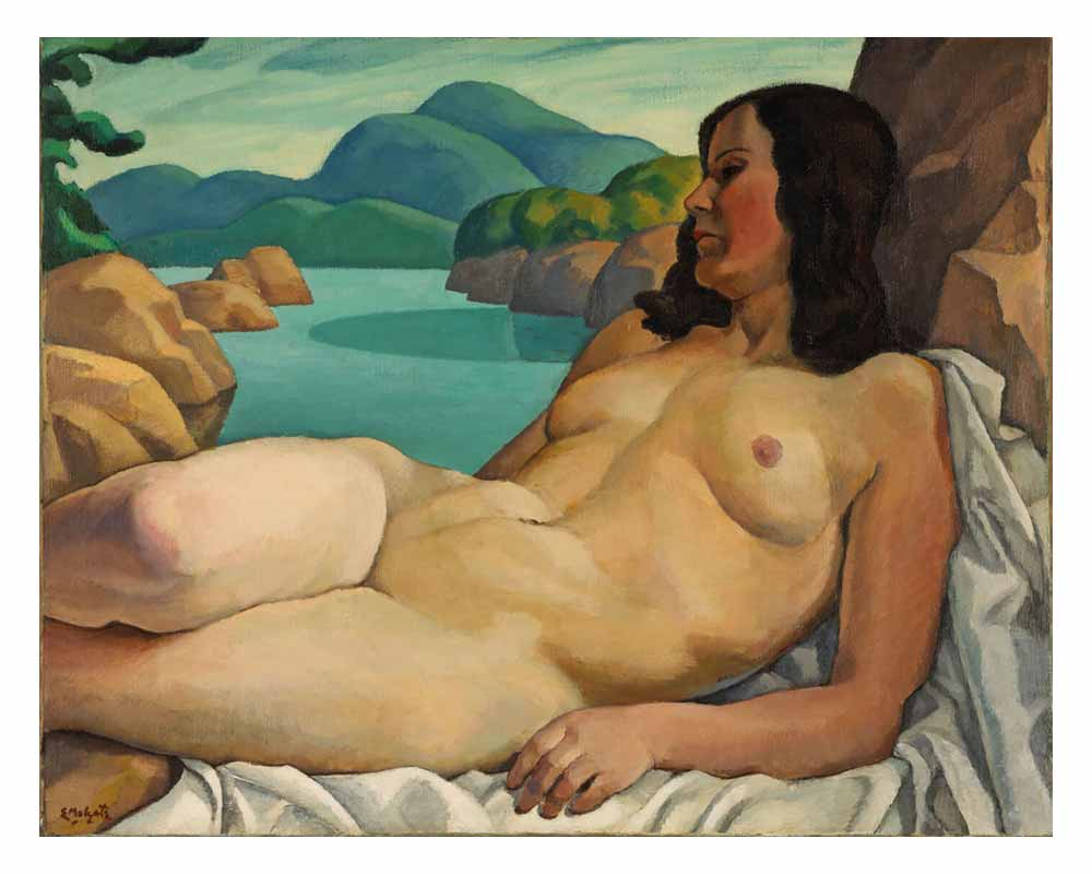 Nude in a Landscape, 1930