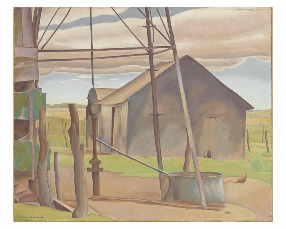 Farmyard, 1931