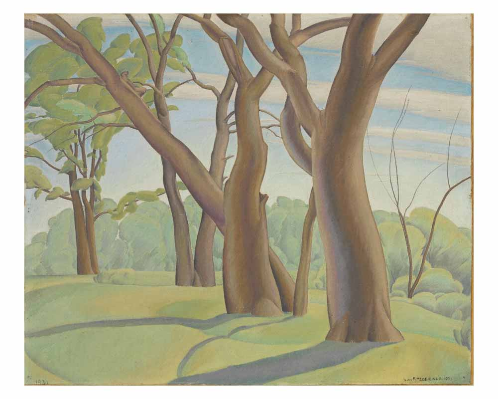 Landscape with Trees, 1931