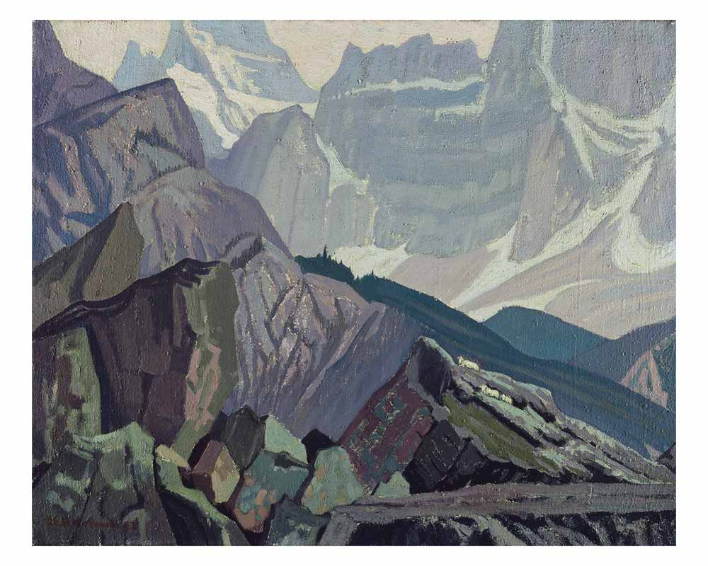 Goat Range, Rocky Mountains, 1932