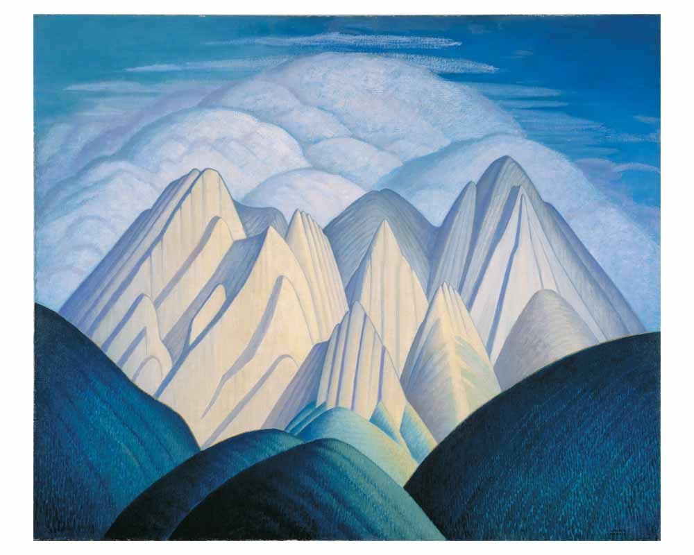 Untitled (Mountains Near Jasper), ca. 1934