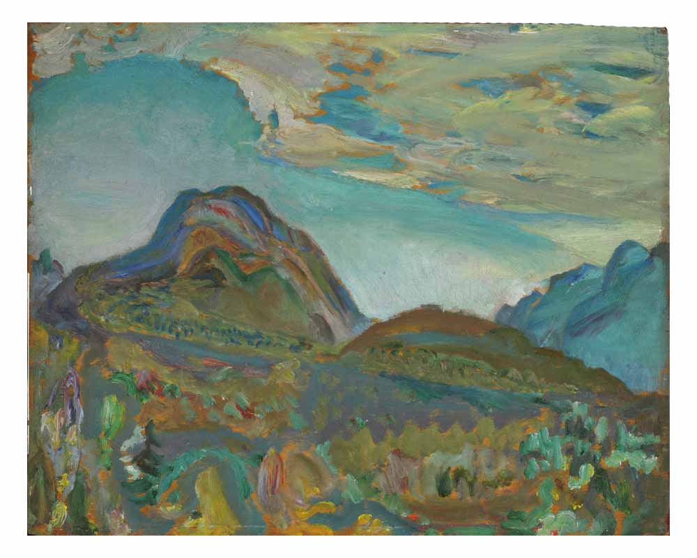 Mountain Sketch, 1935