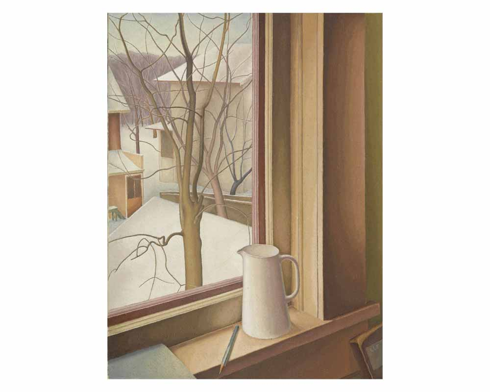 From and Upstairs Window, Winter, 1950-51
